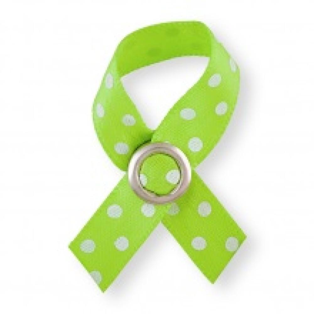 BoobyTag Jesje, groen met witte stippen