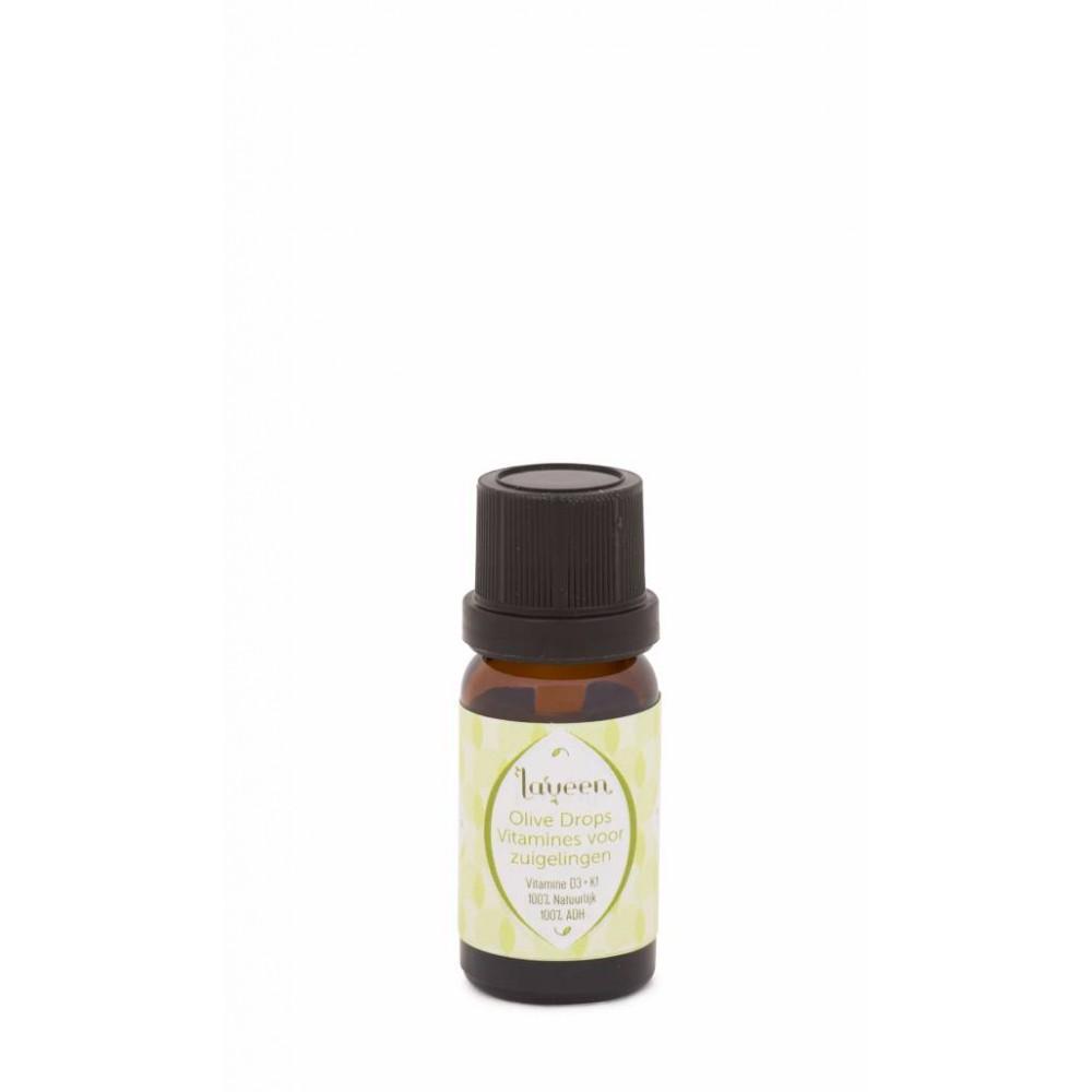 Laveen Olive Drops - voor zuigelingen Vitamine D en K