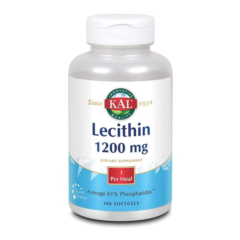 Lecithine 100 softgels KAL