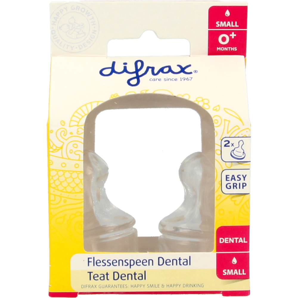 Difrax Flessenspeen Dental Small
