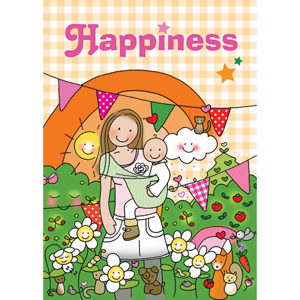 Kaart Happiness Borstvoeding Goedkope Goedkoop Kaarten