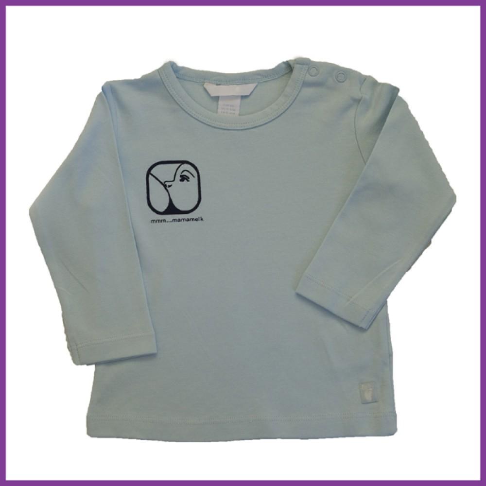 longsleeve met opdruk nursing logo, wit, maat: 86 18 - 23 mnd Borstvoeding Goedkope Goedkoop Kinderkleding