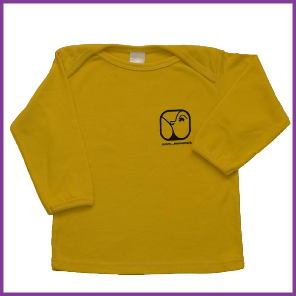 Longsleeve Nursing geel 18-23 mnd Borstvoeding Goedkope Goedkoop Kinderkleding
