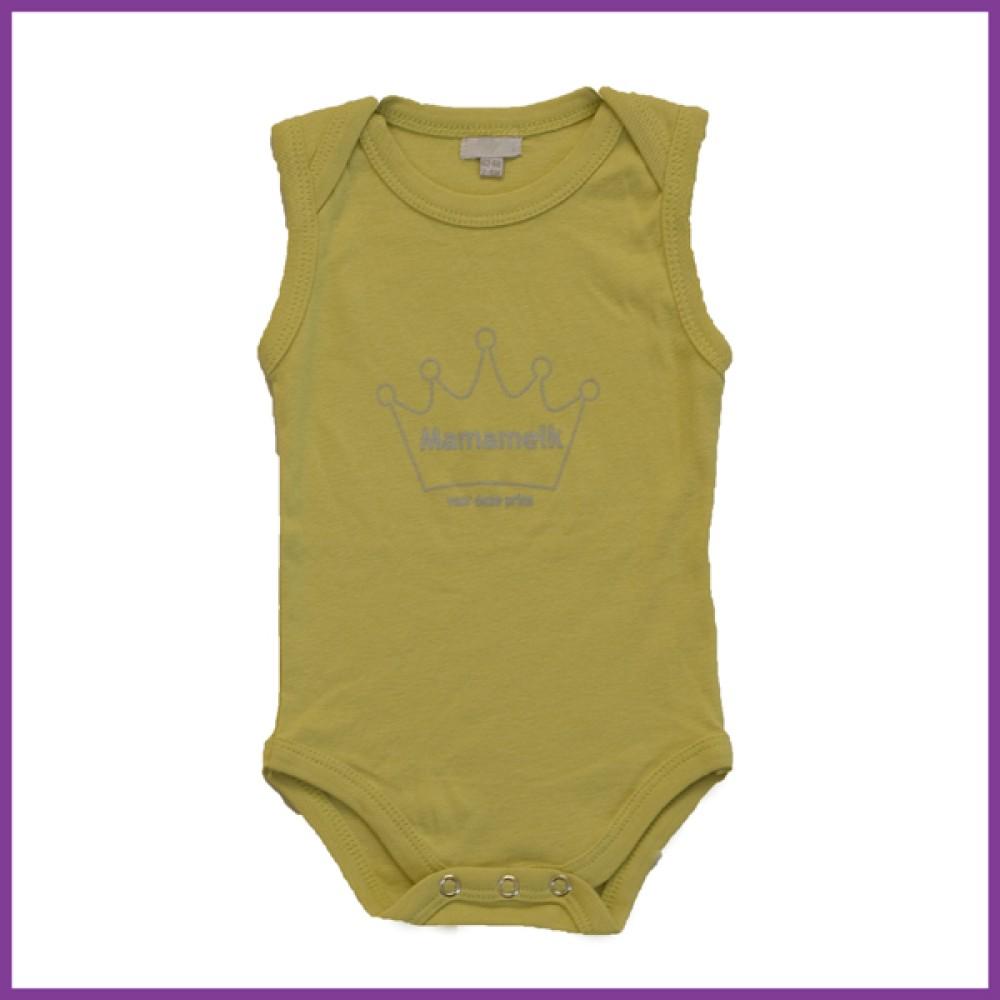 prins licht groen 62/68 mouwloos  Borstvoeding Goedkope Goedkoop Kinderkleding