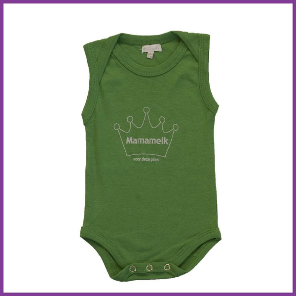 prins donker groen 62/68 mouwloos  Borstvoeding Goedkope Goedkoop Kinderkleding