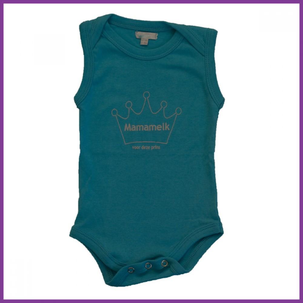 prins aqua 62/68 mouwloos  Borstvoeding Goedkope Goedkoop Kinderkleding