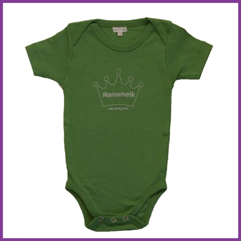 prins donker groen 62/68 korte mouw Borstvoeding Goedkope Goedkoop Kinderkleding