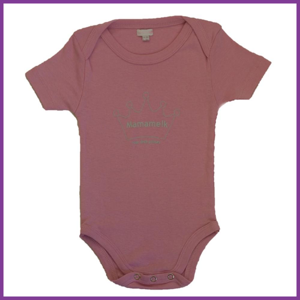 prinses licht roze 74/80 korte mouw  Borstvoeding Goedkope Goedkoop Kinderkleding
