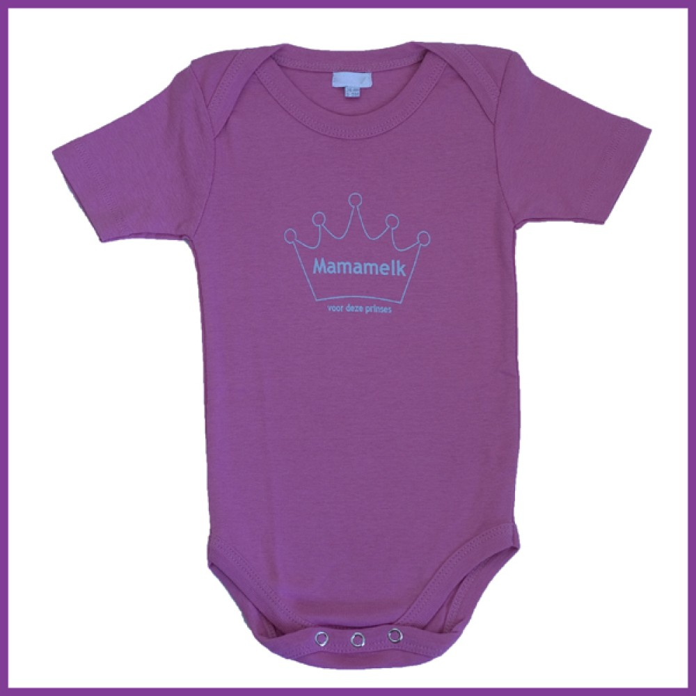 prinses midden roze korte mouw Borstvoeding Goedkope Goedkoop Kinderkleding
