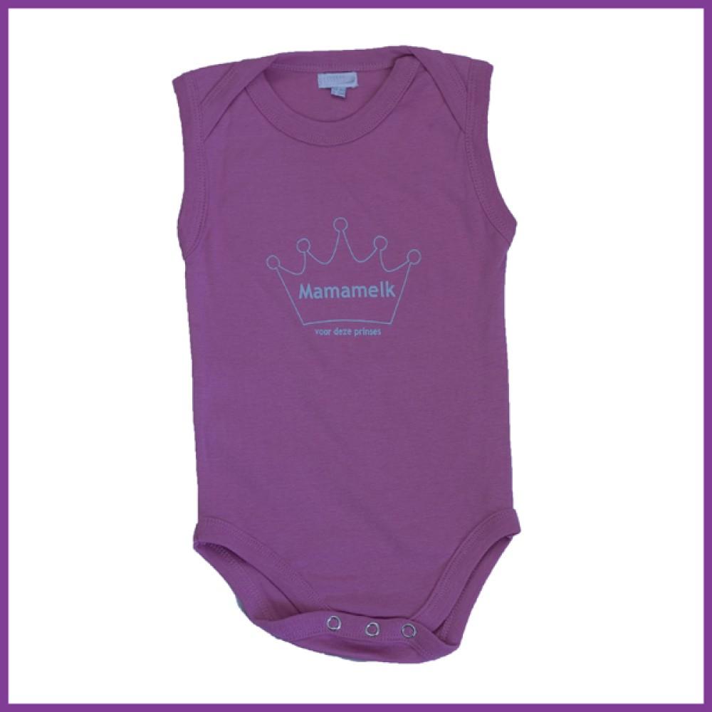 prinses midden roze mouwloos  Borstvoeding Goedkope Goedkoop Kinderkleding