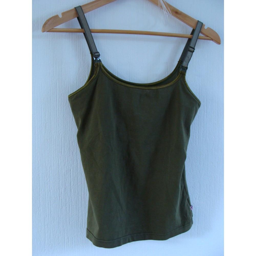BH-Hemd green, S, glamourmom Lingerie