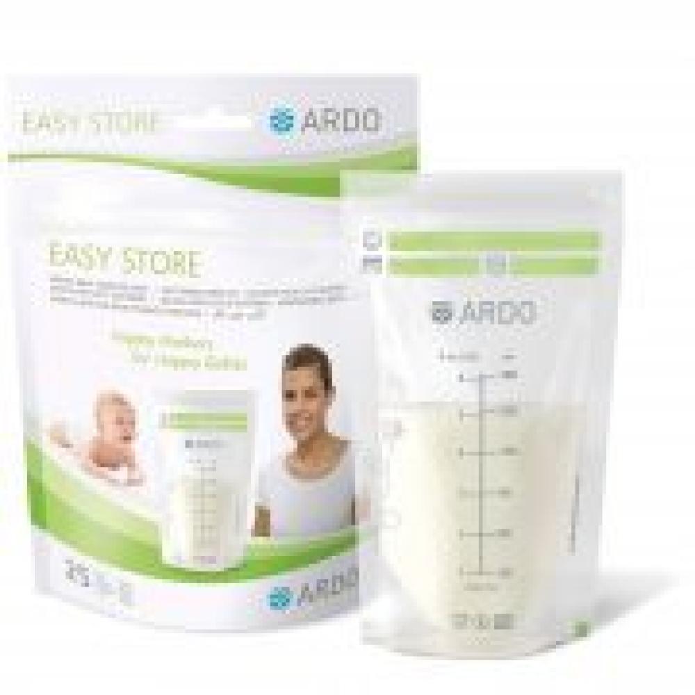 Moedermelkbewaarzakjes Easy store Ardo Borstvoeding Goedkope Goedkoop Bewaren Moedermelk invriezen