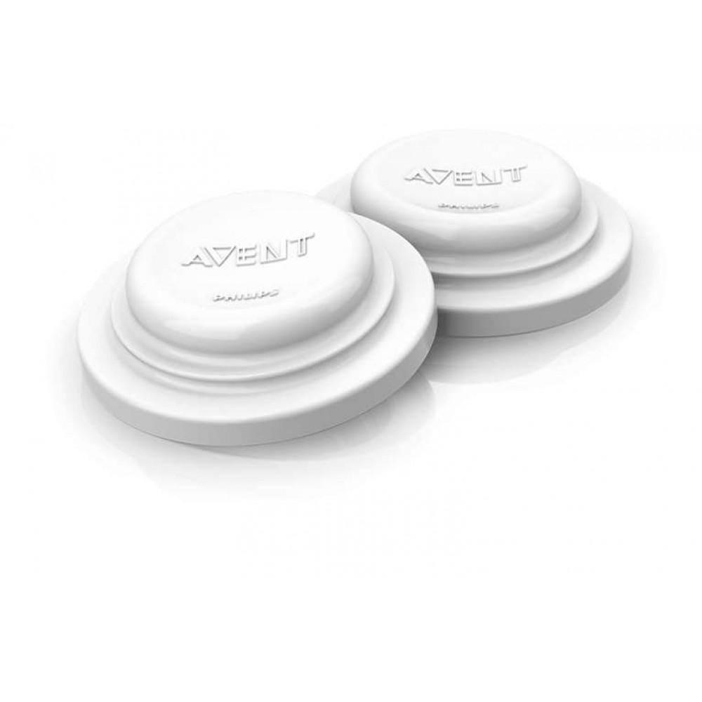Philips Avent - Afsluitplaatjes voor voedingsflessen en drinkbekers - 6 stuks