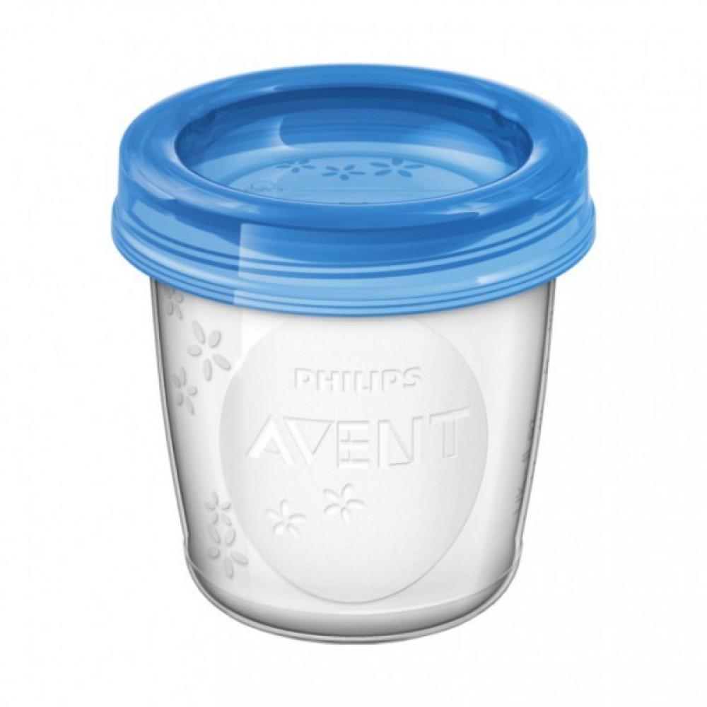 Avent Voorraadbekers 180 ml met deksel 5 stuks Borstvoeding Goedkope Goedkoop Bewaren Moedermelk