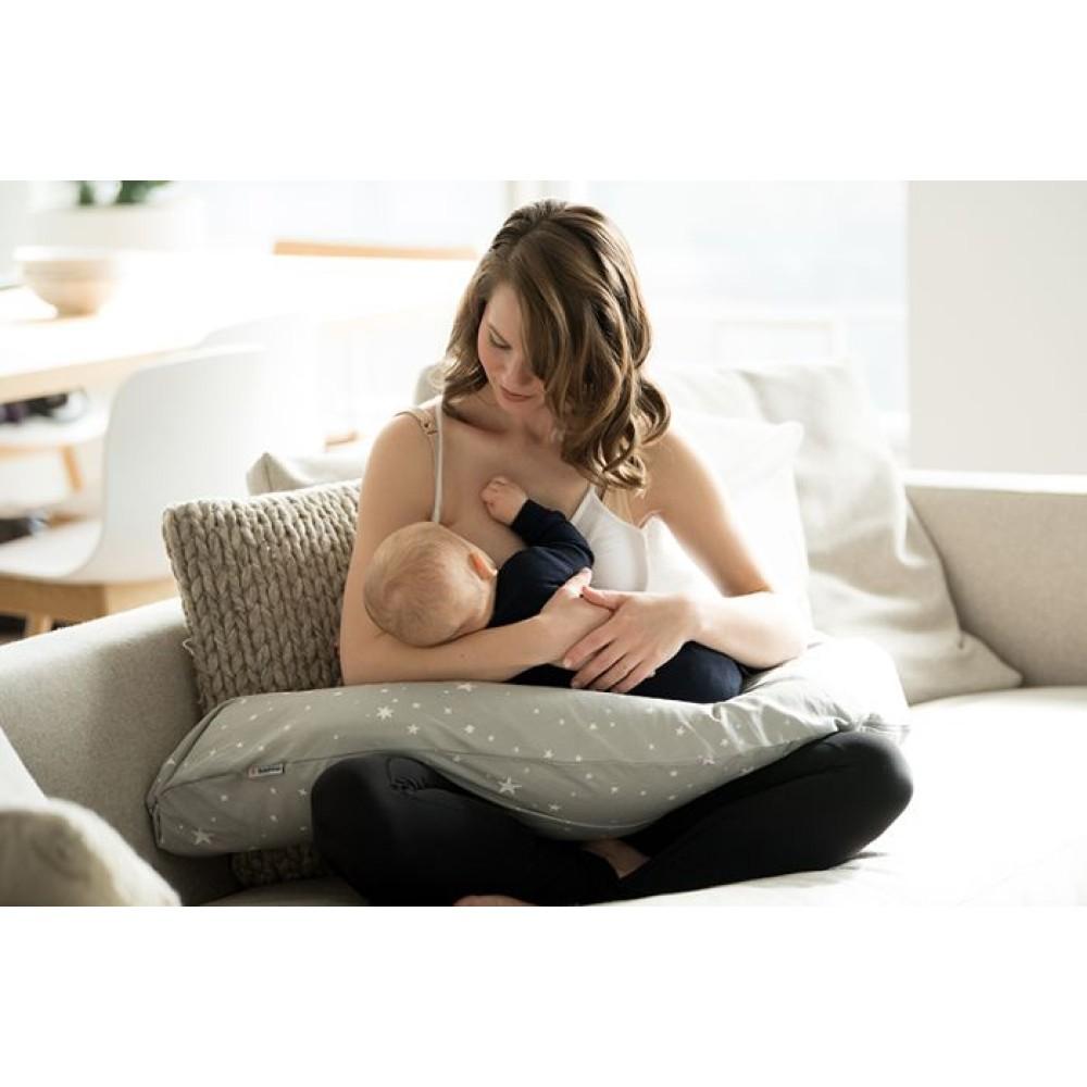 Zwangerschaps- en voedingskussen l Medela l  grijs