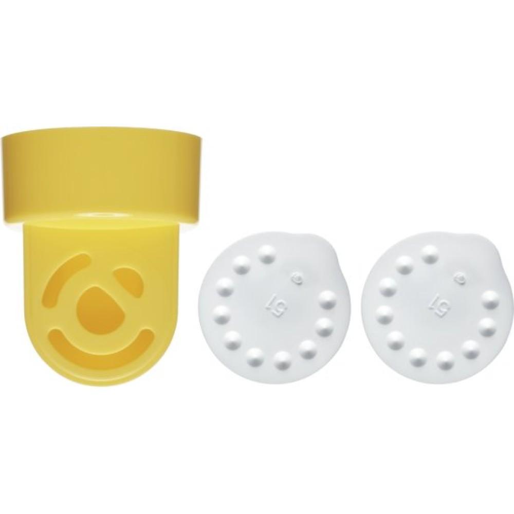 Klephuis en 2 membranen Medela Borstvoeding Goedkope Goedkoop Medela Onderdelen