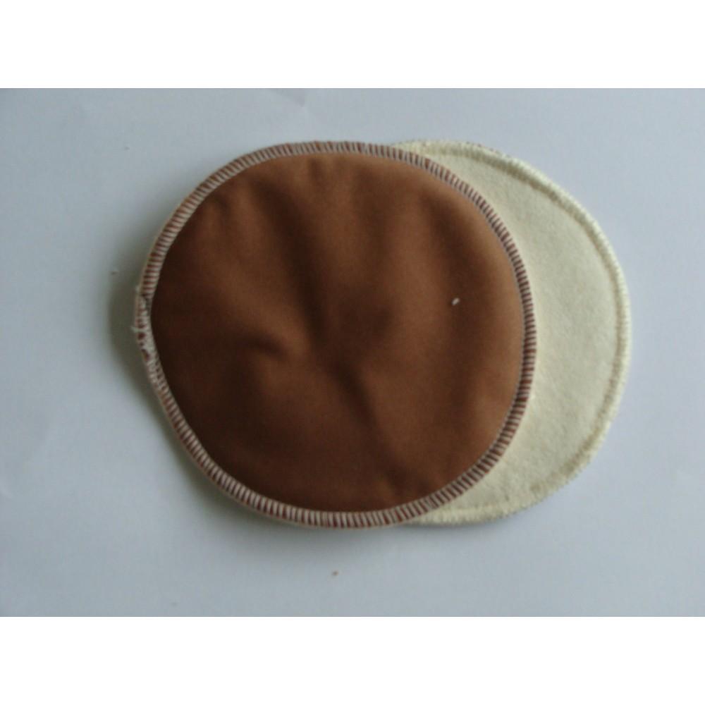 Myllymuksut Zoogcompres Chocolade bruin Borstvoeding Goedkope Goedkoop Wasbare zoogcompressen