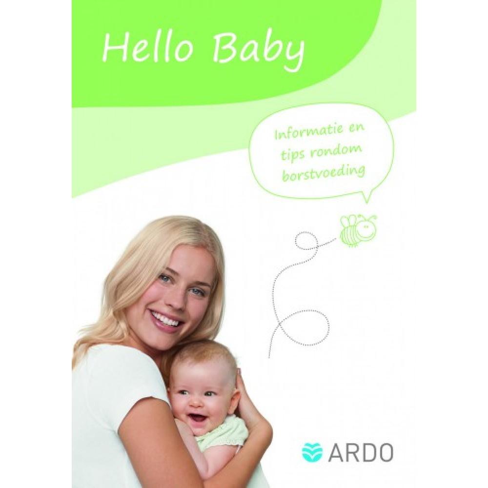 Boekje Hello Baby van Ardo Borstvoeding Goedkope Goedkoop Boeken